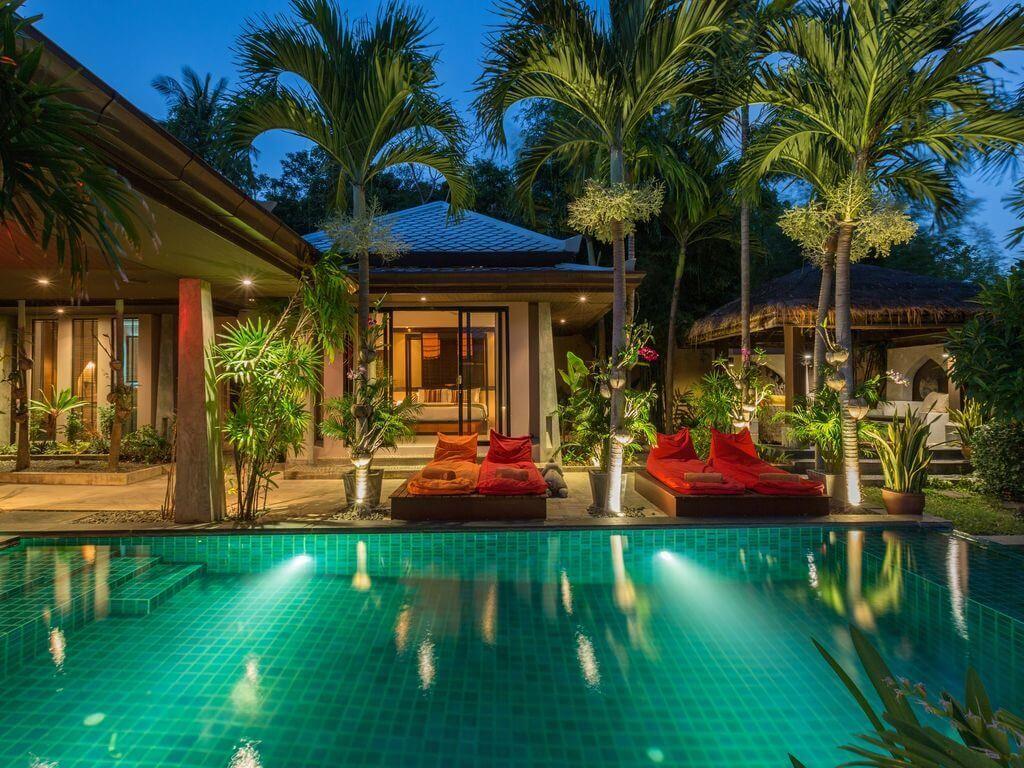 Un resort de luxe Koh Samui