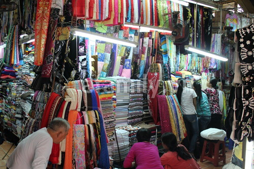 Marché Tan Dinh – Un marché vietnamien vraiment authentique au Centre de Saigon