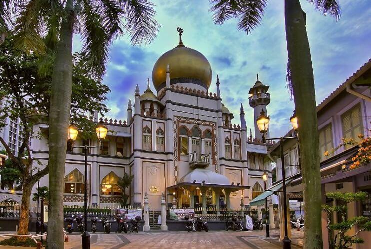 Mosquée du Sultan, Singapour