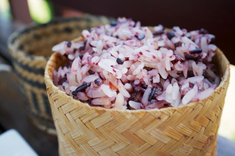 Riz gluant Laos, un des dix plats les plus célèbres de Lao
