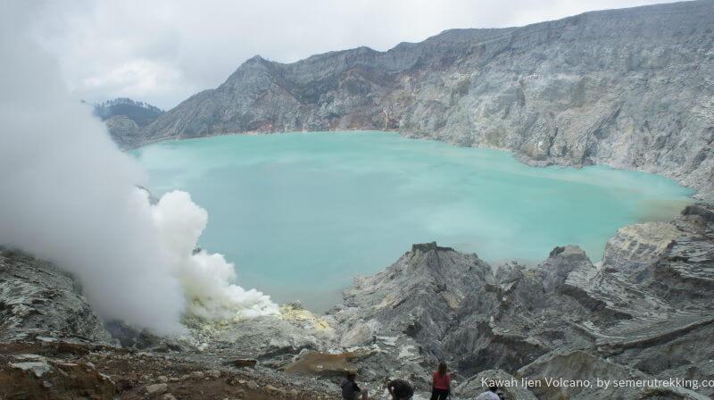 Trekking Kawah Ijen, Indonésie
