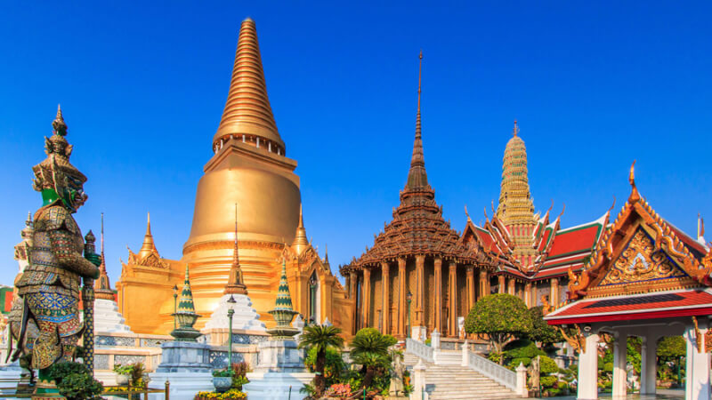 Wat Phra Kaew, Thaïlande