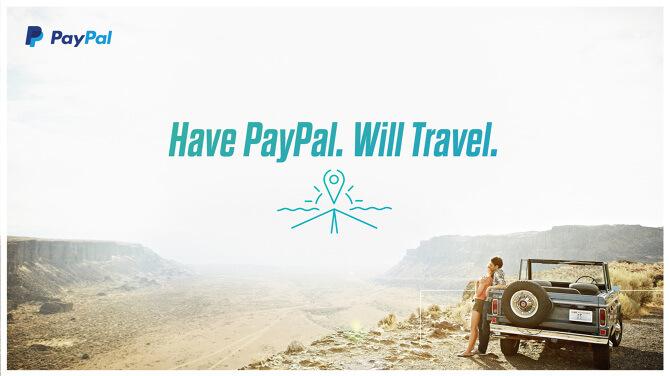 payer votre voyage avec Paypal