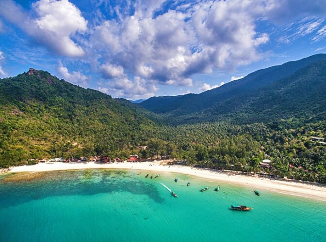 Plage bouteille (Bottle Beach), Koh Phangan