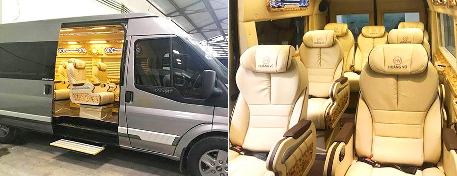 Bus de luxe Ho chi minh ville Dalat