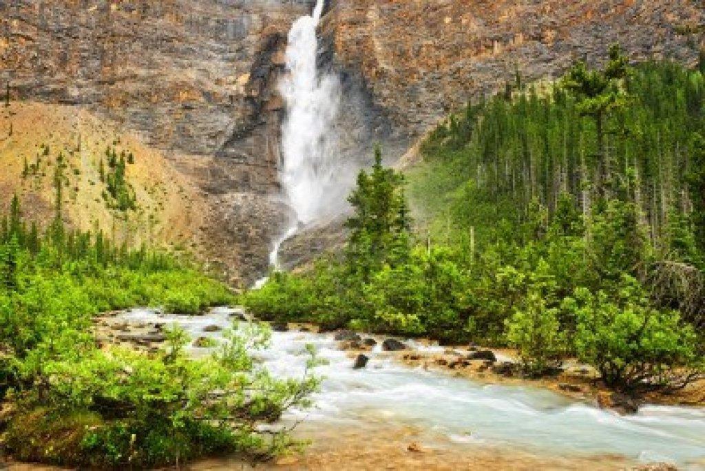 Chutes Takakkaw - Parc national Yoho