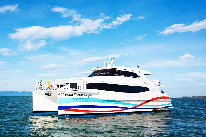 Ferry à grande vitesse Boonsiri de Bangkok à Koh Kood