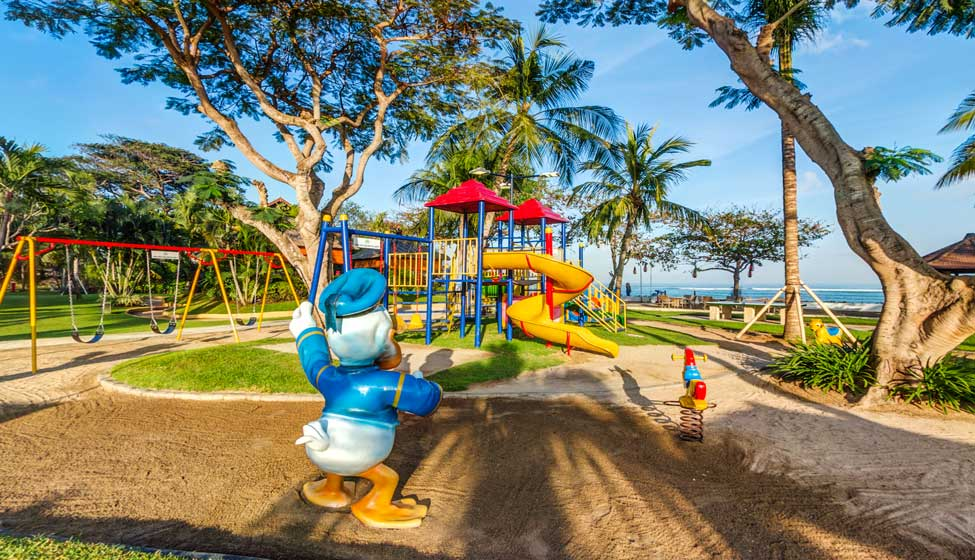 Hotel pour les enfants à Bali