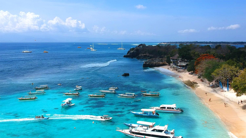 Mushroom Bay, une des plus belles plages de Bali