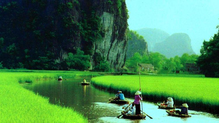 Ninh Binh , Tam Coc, Vietnam