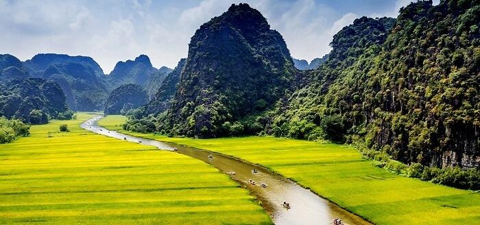 Paysages de Tam Coc - Bich Dong
