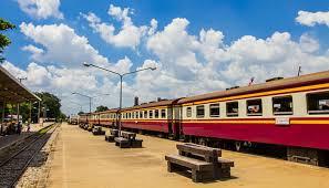 Train de Bangkok à Ayutthaya