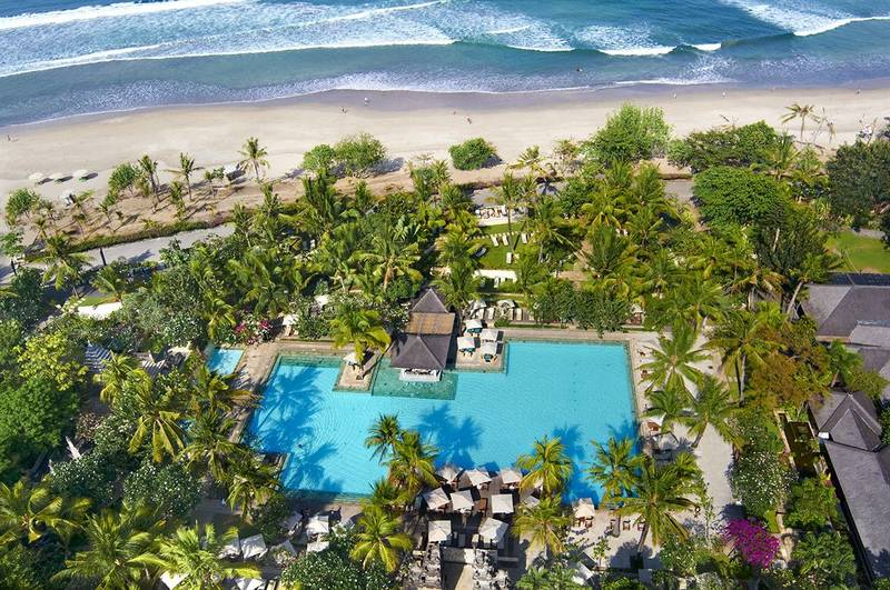 Vue d'en haut de InterContinental Bali Resort