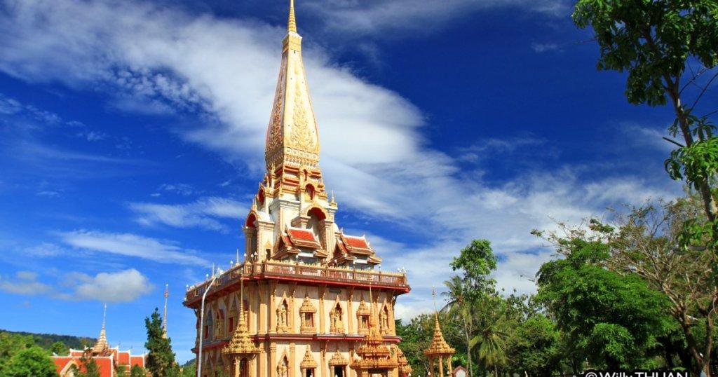 Wat Chalong, Le plus grand et le plus célèbre temple de Phuket