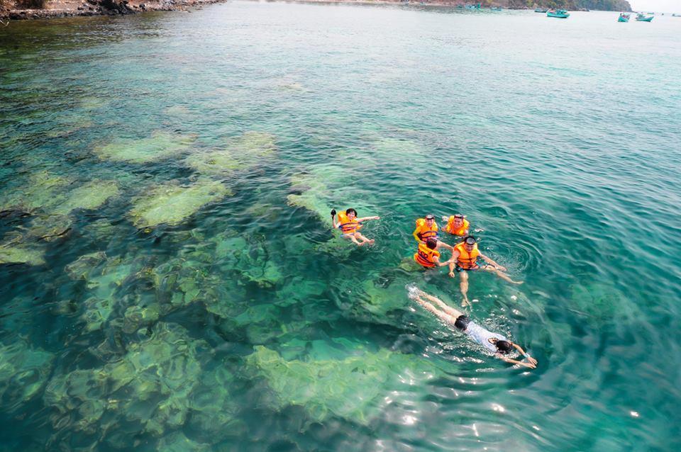 Recifs de coraux de Nam Du