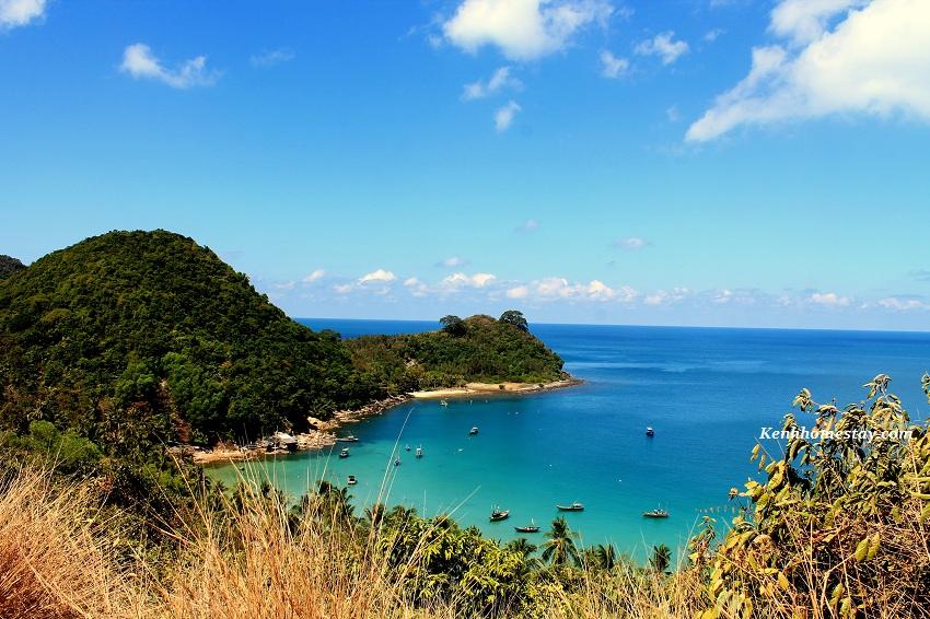 Vue sur la baie de Nam Du