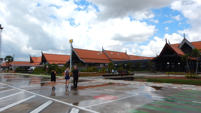L'aéroport international de Siem Reap au Cambodge