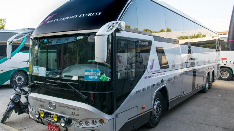 Comment aller de Mandalay à Bagan Myanmar en Bus