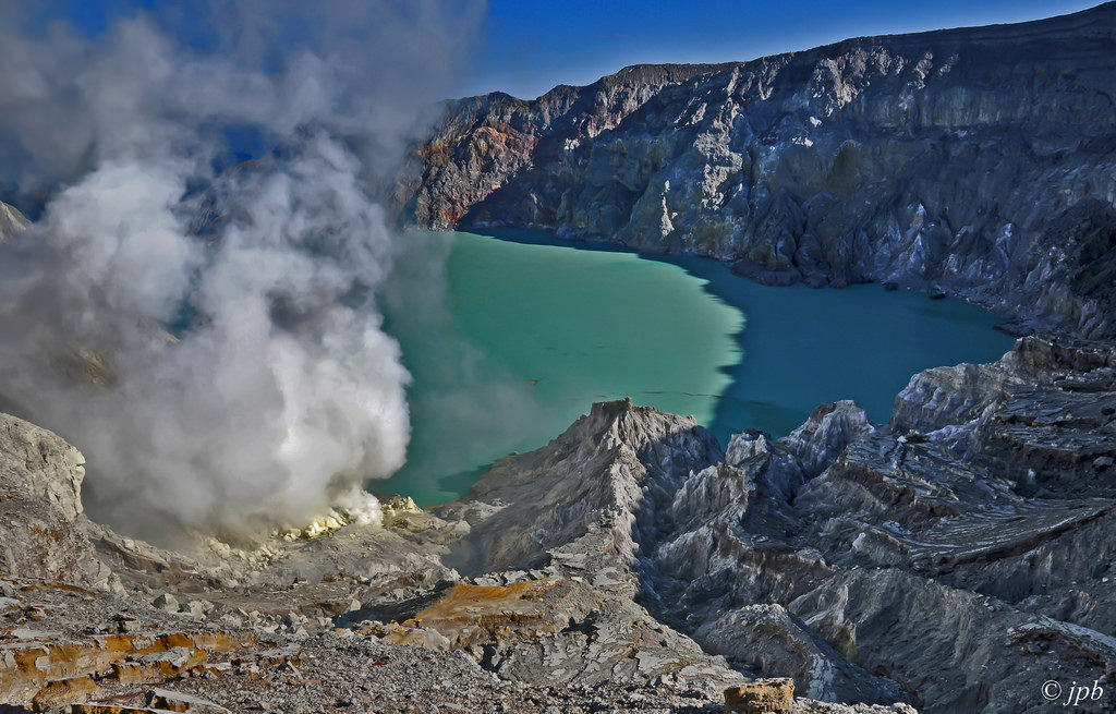 Kawah ijen, Java, Indonésie., Source image Flicrk JEAN PIERRE BOISTE