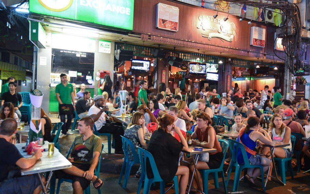 Khao San Road, Bang Kok , Thailande