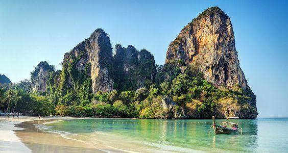 Comment se rendre de Krabi ( Ao Nang ) à la plage Railay