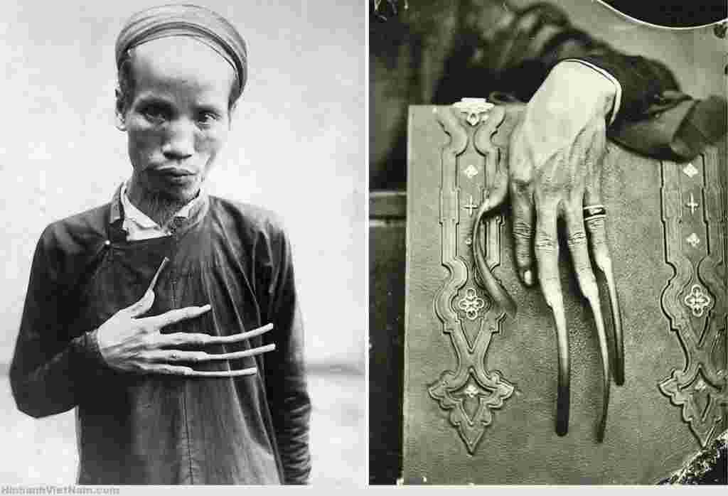 Pourquoi des hommes vietnamiens ont des onglestrès longs ?