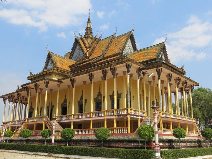La pagode à 100 colonnes