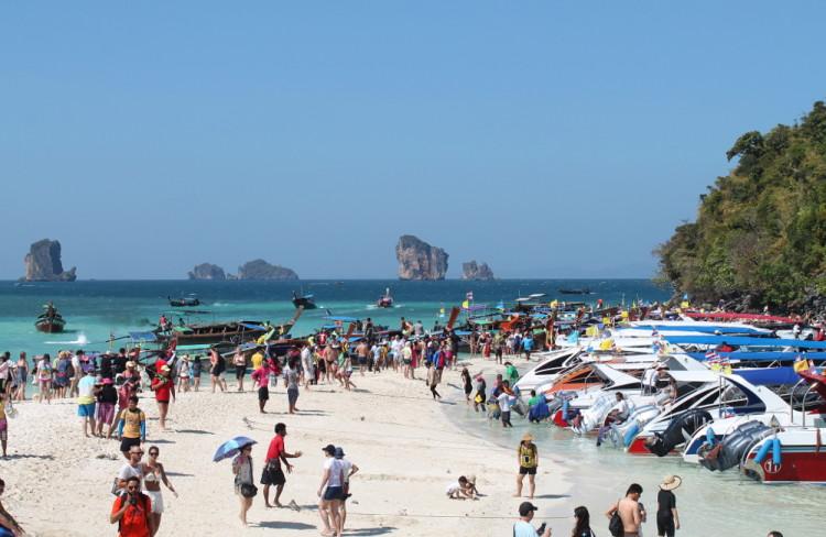 Comment éviter la foule lors des visites d'îles à Krabi