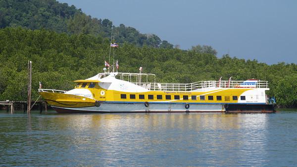 Transports de Phuket à Koh Lanta et de Koh Phi Phi à Koh Lanta