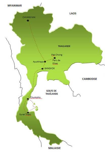 Itinéraire au Myanmar en 14 jours (2 semaines)