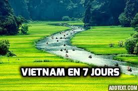 Itinéraire Vietnam en 7 jours ( tout ce que vous pouvez faire au Vietnam en 1 semaine)