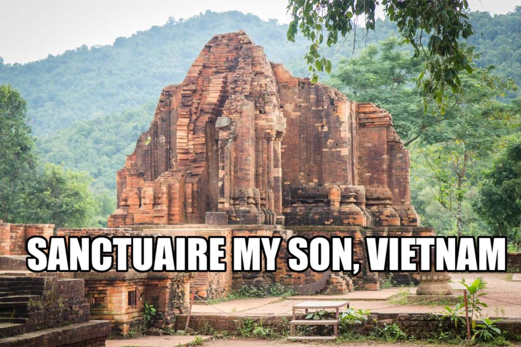 Exploration du mystérieux sanctuaire My Son, Vietnam