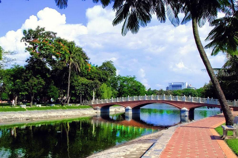 Parc Thong Nhat Hanoi
