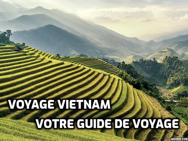 Guide de voyage pour le Vietnam