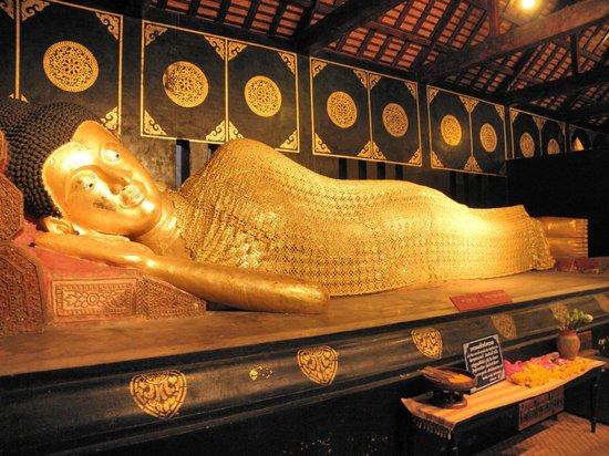Bouddha couché de Chiang Mai