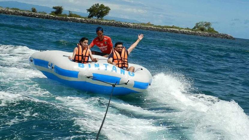 Sports nautiques à Nusa Dua, Bali