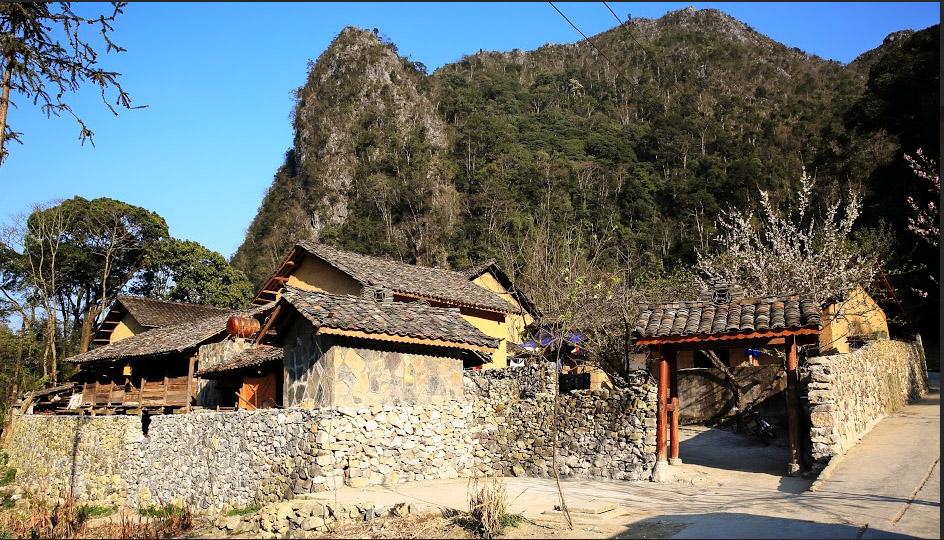 Maisons des Hmong Blancs