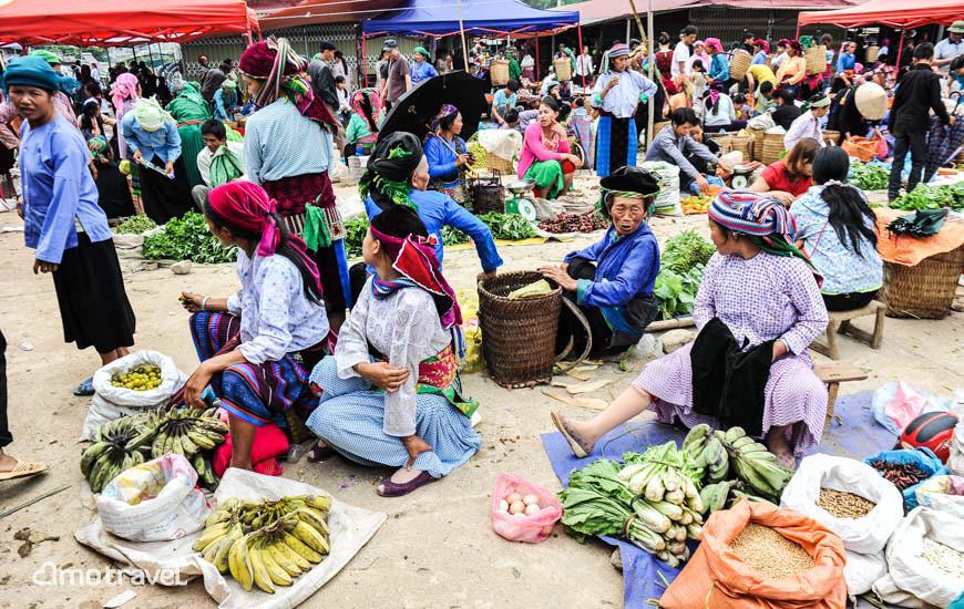 Marché Dong Van, Ha Giang