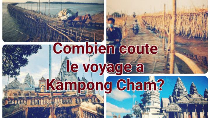 Combien cela coûte de voyager à Kampong Cham?
