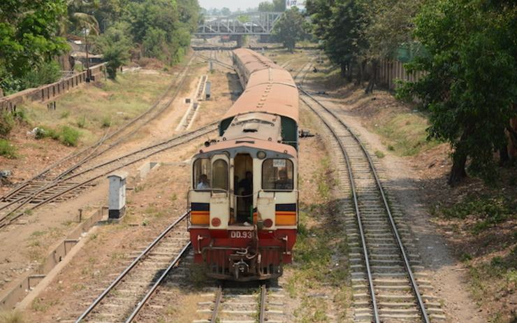 Train circulaire de Yangon