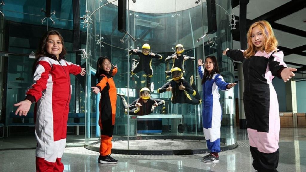 Parachutisme en salle Yangon
