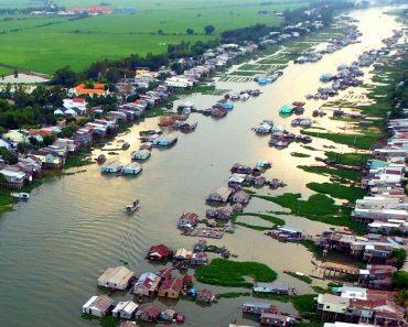 Marché flottant de Chau Doc